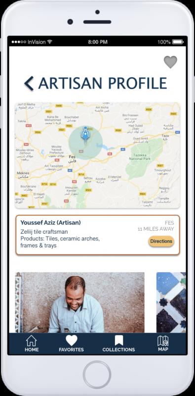 App Screen-Artisan profile