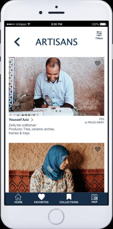 App Screen-Artisans