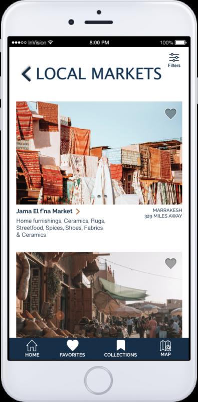 App Screen-Local Markets