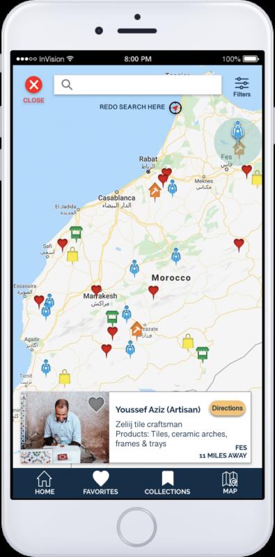 App Screen-Map